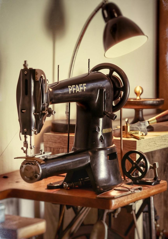 Das Arbeiten mit altenMaschinen